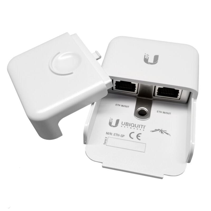 UBIQUITI - ETH-SP Gigabit Ethernet Network Outdoor PoE Surge ESD Power Protector