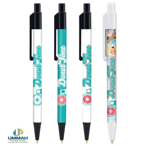 250 Personalized USA Made Colorama Pen Imprinted w/ Logo / Text  /Art Full Color