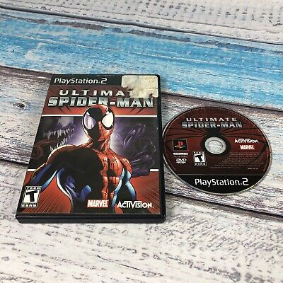 Ultimate Spider-Man Spiderman Playstation 2 PS2 Game! No Manual!