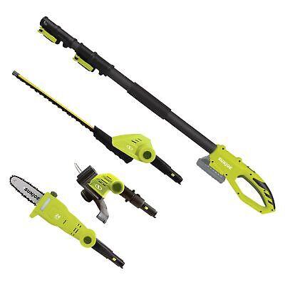 Sun Joe GTS4002C 24V Cordless Lithium-Ion Multi-Tool Lawn Ca