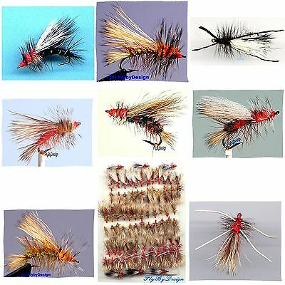 Premium Stimulator Dry Fly Fishing Flies - Your Choice of Color, Size & (Stimulator Dry Fly)