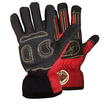 New Red Safety Gloves Rescue Schmitz Mittz Rescue-x Extrication Waterproof