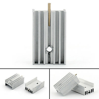 10pcs Heat Sink Cooler 15x10x25mm Radiator For Power Cpu Transistormosfetic Ue