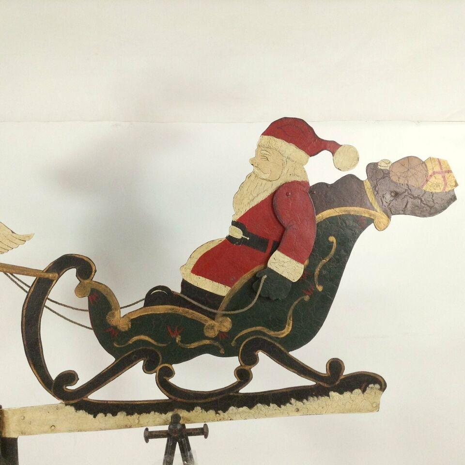 XXL Pendel 170 cm ! Santa Clause Weihnachtsmann Schlitten Rentier in Baden-Württemberg - Marxzell