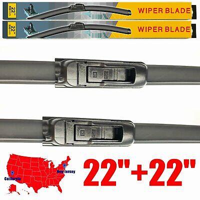 For Dodge Ram 1500 2500 3500 2009-2018 Windshield Wiper Blades U&J hook Set of