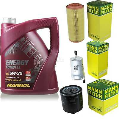 Inspection Set 5L Mannol Energy Combill 5W30 Motor Oil + Mann Filter 10767035