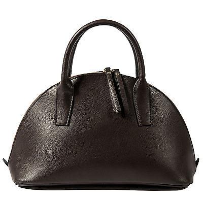Half Moon Leder (Noble Bags Ines Havanna Brown Half Moon Damen Medium Leder Handtasche *UVP 189€*)
