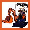 DIGGERMATE - Mini Excavator Hire $175p/d