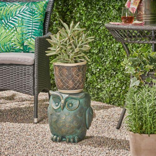 Brock Owl Garden Stool Home & Garden