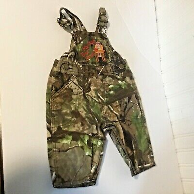 Lil Joey toddler Boys Sz S Kritter Camo Overalls My First Tree Stand High Chair - Camo High Chair