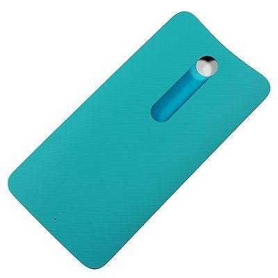 OEM Motorola Moto X Look Pure Edition Battery Back Door Cover Housing Turquoise