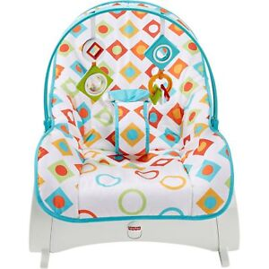 Fisher-Price Newborn-to-Toddler Baby Portable Rocker Bouncer