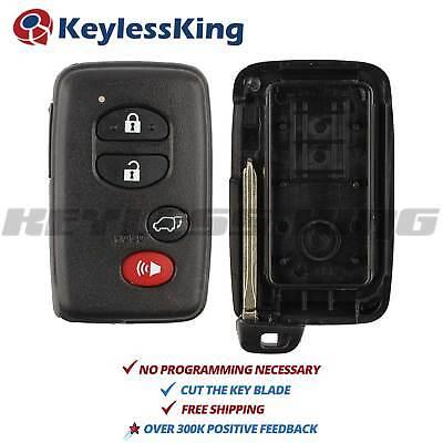 Keyless Entry Remote Key Fob Shell Case for Toyota Highlander Rav4 Venza FR-S