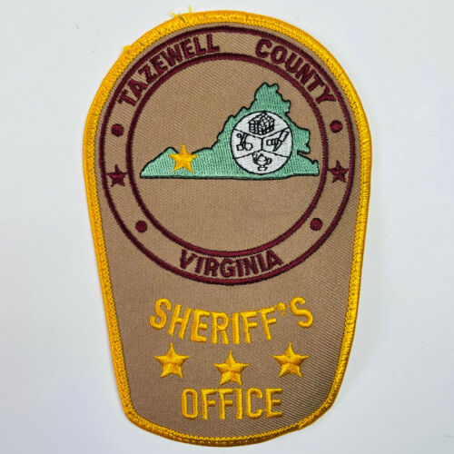 Tazewell County Sheriff Virginia VA Patch USED CONDITION