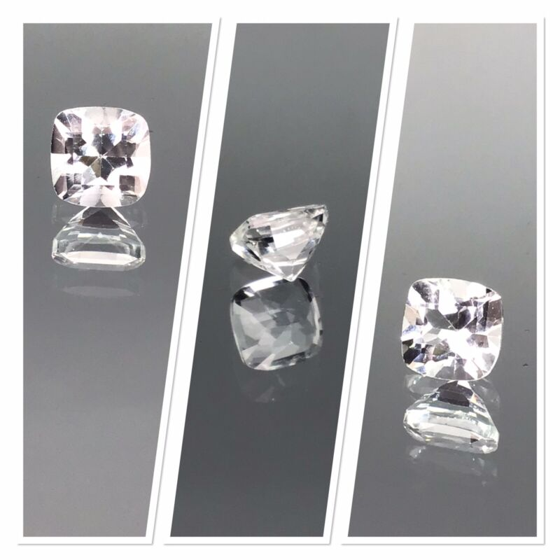 Killiecrankie diamond Cushion cut Crystal Clear 1.30 Carat Untreated Tasmania