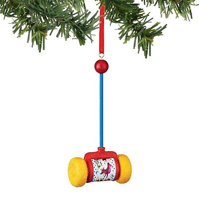 4045024 Fisher Price Miniature Push Toy Christmas Ornament by Department 56