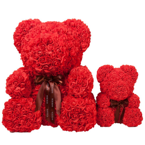 """27"""" Forever Rose Bear for Anniversary Wedding Girlfriend Mother"""