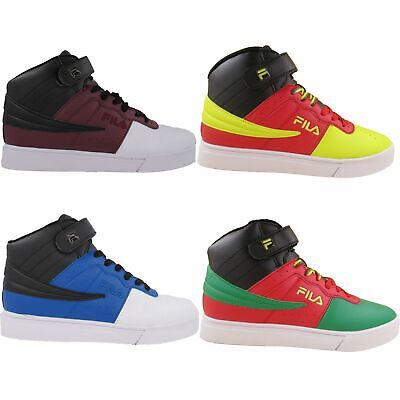 Fila Mens Vulc 13 Mid Plus MP BC Casual Ankle Strap Shoes