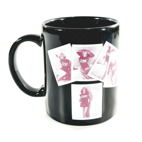 BLONDIE 2008 Rockware Black Collectible Tea Coffee Mug