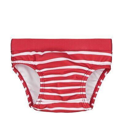 Steiff Baby Schwimmwindel gr. 68 ab 3 - 6 Monate tango red rot gestreift