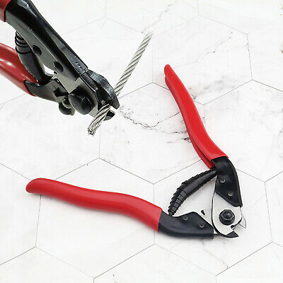 Cutting Pliers Stainless Steel Wire Rope 8 Cutters Cable Cutter Snips Tool