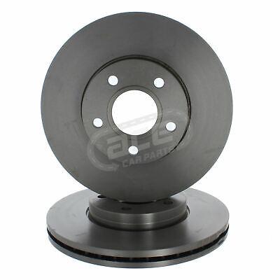 Ford Focus Mk2 Hatchback 2004-2012 1.4 1.6 1.8 Front Vented Brake Discs 278mm