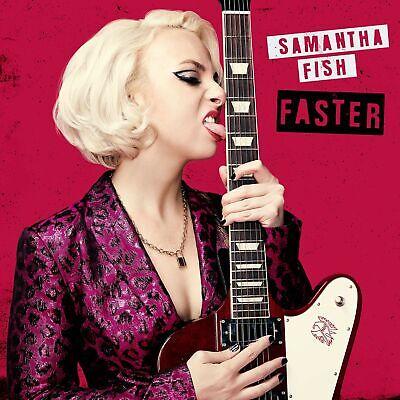 Faster Samantha Fish AUDIO CD discs  :  1  Rock -  Rounder FREE SHIPPING