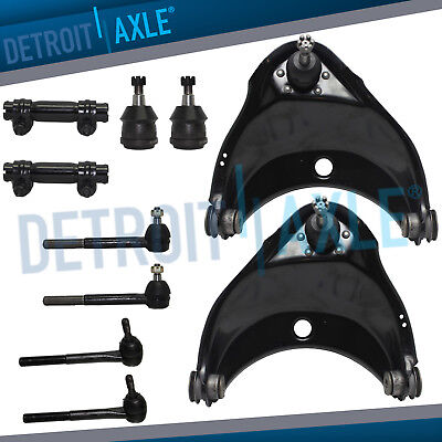 Front Upper Control Arm Ball Joint Tierod for C1500 Express 2500 GMC Savana RWD