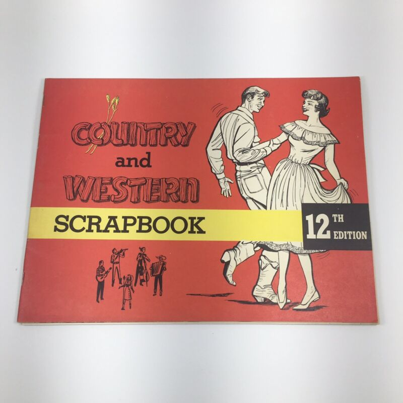 1963 COUNTRY AND WESTERN SCRAPBOOK
