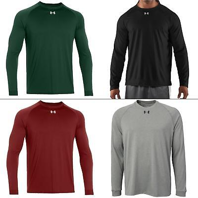 Under Armour Men Athletic Apparel Locker Long Sleeve Shirt Navy