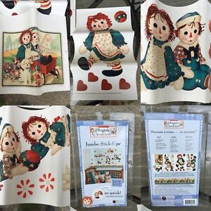 Raggedy Ann & Andy Wall Decals