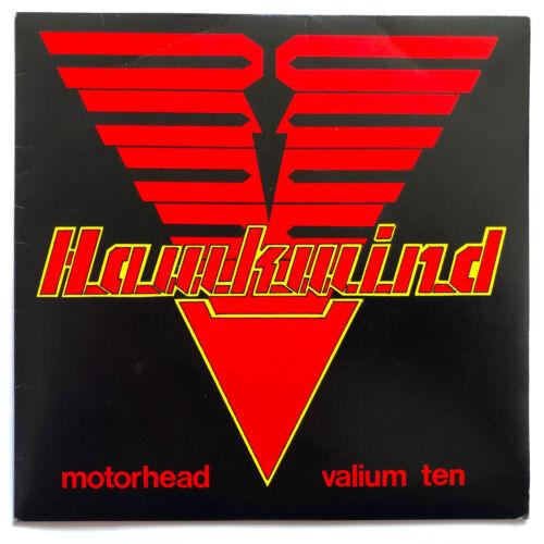 "•• HAWKWIND •• Motorhead / Valium Ten •• Orig 1981 UK 7"" Pic Sleeve + insert! ••"