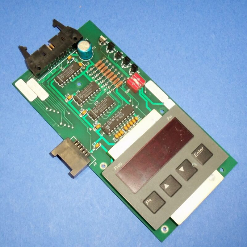 ALLEN BRADLEY KEYPAD DISPLAY PANEL, 120662 REV. 01