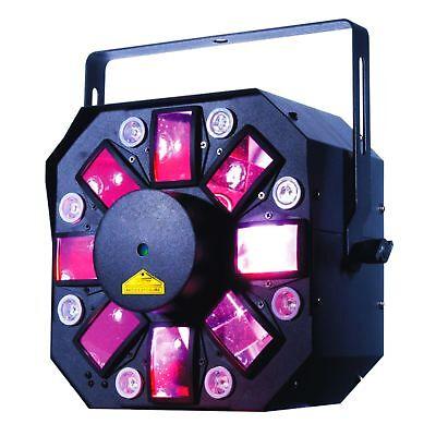 Stinger Laser (ADJ American DJ Stinger II (2)  triple Effekt 8x3Watt Flower UV-Strobe Laser )