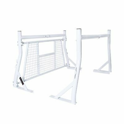 Universal Pickup Truck Heacache Rack Screen Protector Heavy Duty 800Lb Utility