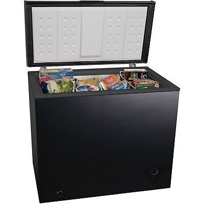 Best 7 Cubic Foot Chest Freezer Upright Compact Food Storage Fridge Black ()