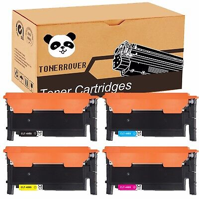 4Pk Color Clt K406s Toner For Samsung Clp 365W Clx 3305Fw Xpress C410w C460fw Us