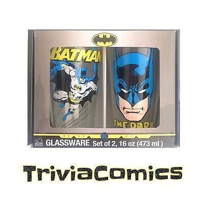 Batman DC Comics Pint Glassware Set Pint Glassware Set