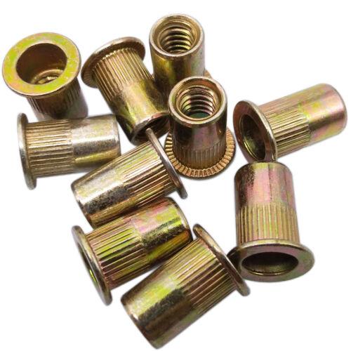 US Stock 10pcs M12 x 1.75 x 22mm LFK Steel Rivet Nut Rivnut Insert Nutsert