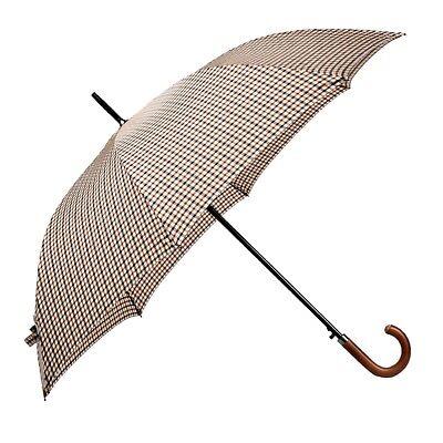 BOLERO OMBRELLI - Ombrello da pioggia Lungo Golf Antivento Automatico Legno