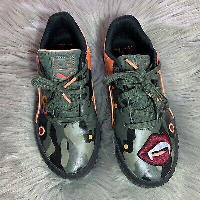 Puma Cali Peonies Camo S. Tsai Shoes Unique Size Womens US 7 Nice!