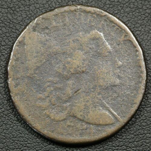 1794 Fallen 4 S-63 Liberty Cap Flowing Hair Copper Large Cent - Corrosion