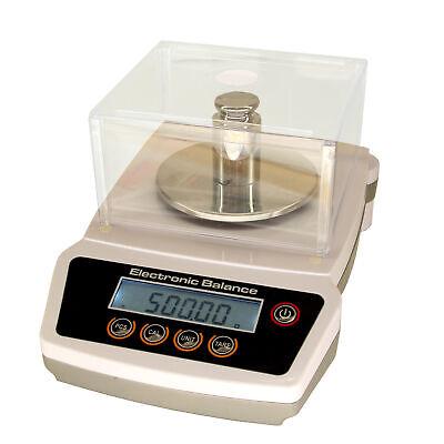 Hfs Ja1002 1000gx 0.01 Gram 10 Mg Digital Scale Balance Lab Analytical Precision