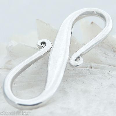 K20 S-Haken 20mm SILBER 925 Verschluss f. Kette u. Armband silver clasp 20mm K20