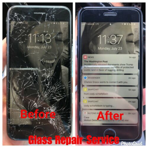 Apple Iphone 6s Cracked Screen Glass Fix Repair Service Restore Oem Quality!