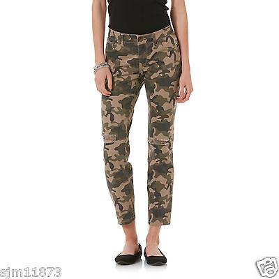 Bongo Distressed Skinny Jeans Deconstruct  - Camouflage  Junior's  - Junioren Distressed Skinny Jeans