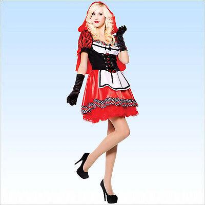 Kostüm Rotkäppchen Gr. 38-42 Faschingskostüm Märchen Karnevalskostüm Fasching