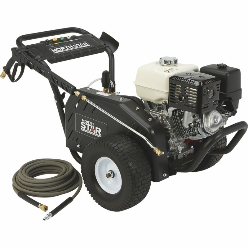 NorthStar Gas Cold Water Pressure Washer - 4000 PSI, 3.5 GPM, Honda Engine,