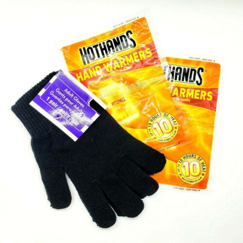 HotHands & Gloves Mittens Set Hand Warmers 2 Packs with Various Colors Styles