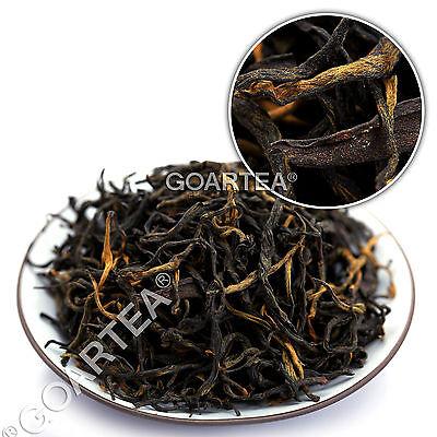 GOARTEA Organic Yunnan FengQing Golden Buds Dian Hong Dianhong Chinese Black Tea